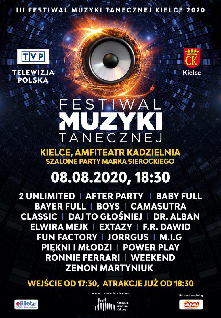 III Festiwal Muzyki Tanecznej Kielce 2020